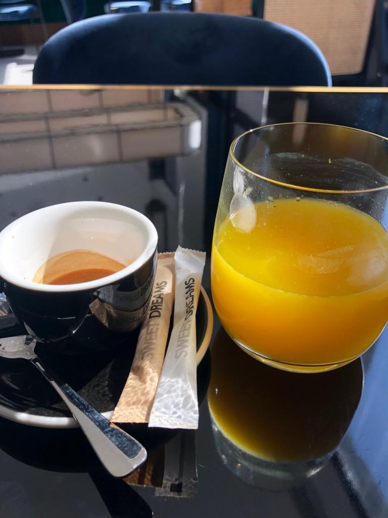 kávé, narancs